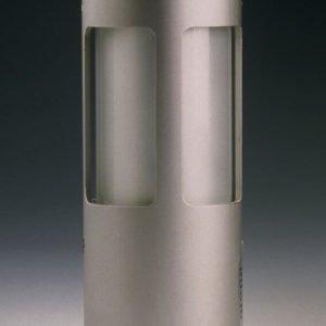 Outdoor lamp 19 cm XS 360 degree light emission all round in aluminum