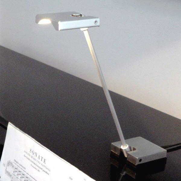 led leeslamp samenvouwbaar op piano