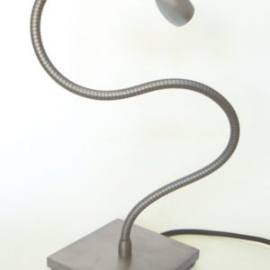 Bed reading lamp with flexible and base LOLO TABLE
